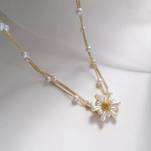 Pretty Double Layer Faux Pearl Necklace